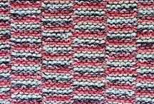 poufs, pillows, blankets, rugs etc. / knit, crochet, weave, sew...