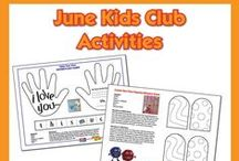 Kids in the Kitchen / Easy fix ideas for kids & printable activities from our Kids Club events.