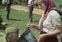 Red Army WW 2 and after in Color / Why Hitler's Germany was defeated.