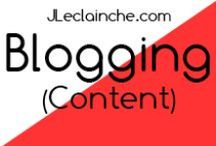Blogging / #Blogging #Tips for #Write, do #Photography, find and #Create #Contents for #Blog like a #Pro (and even become a Pro), Make Money Blogging, Income http://jleclainche.com