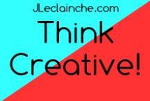 Creative Inspiration / all about #Creativity, what mean, #HowTo have, Creativity #Development, #Tips and so on http://jleclainche.com