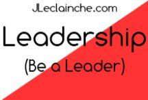 Entrepreuneurship / #HowTo Be a #Leader, Got #Leadership, be #Innovativ, not a #Followers, all #Pin of this #Board will show You how to #Learn #Leader and #Success #Habits for #HighLight to everyone how #You are #Awesome #Self #Improvement #Be a #Leader #Speaker #PublicSpeaker http://jleclainche.com