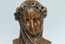 Bronzes / Bronze statues. Some have been available through auction houses.