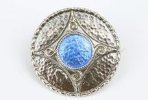 Charles Horner - Brooches / Collection of brooch designs from Charles Horner covering from the Victorian era, Art Nouveau and Art Deco. Excluding Staybrite (see other board). Duplicates are minimal except where additional information or colours is shown.