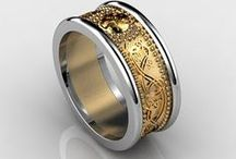 Ring Designs / Looking for Wedding Rings but honestly, anything I like is ending up in here.