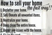 Selling your house. / Some tips and ideas to help you prepare your house to sell, to move or settle into your new place.