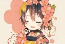 Touken╰(*´︶`*)╯ / My beautiful swords ♥(ˆ⌣ˆԅ)
