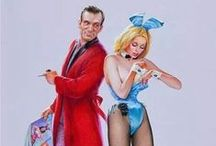 Playboy Bunnies / The Playboy Bunnies I enjoy so much! Really any girl with rabbit ears or a rabbit mask though.