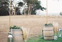 Australian Country Wedding / Ideas for a December (Summer) wedding on a budget. Country location.