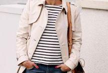 Stripes & More ⛵️ / Das Matrosen-Shirt hat sie populär gemacht: die Streifen. Doch schon längst kommen sie nicht mehr nur klassisch daher, sondern sie ziehen mit lässigem Chic alle Blicke auf sich. All-Over oder nur als Detail, Streifen können sich in vielen Kombinationen sehen lassen.