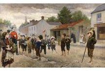 Richard Thomas Moynan / Richard Thomas Moynan R.H.A. (27 April 1856 – 10 April 1906), Irish painter (Dublin).