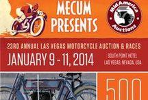 23rd Annual Las Vegas Motorcycle Auction & Races / Mecum presents MidAmerica's 23rd Annual Las Vegas Motorcycle Auction & Races Jan. 9-11 featuring 500 antique and classic motorcycles.