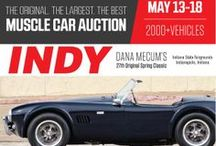 Indy 2014 / Dana Mecum's 27th Original Spring Classic Auction featuring more than 2,000 classic and collector cars. The Original, The Largest, The Best Muscle Car Auction. May 13-28, 2014 at the Indianapolis State Fairgrounds.