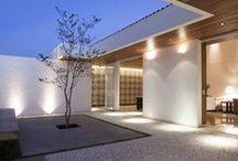 Ulkovalaistuksia, outdoor lighting / Ulkovalaismia erilaisissa ympäristöissä