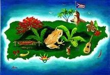 """Puerto Rico - San Juan / Puerto Rico - officially the Commonwealth of Puerto Rico  (Estado Libre Asociado de Puerto Rico) literally the """"Free Associated State of Puerto Rico""""), is a United States territory located in the northeastern Caribbean. Puerto Rico is an archipelago that includes Puerto Rico, Vieques, Culebra, and Mona Island. The capital and largest city is San Juan. It has a tropical climate with warm weather year-round. Its official languages are Spanish, which is prevalent, and English. / by Roberto Crispiniano Acosta"""