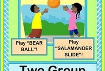 Active Preschool Ideas! / Get your Preschoolers 'up and moving' with ACTIVE Group Games! / by Gail McKoy