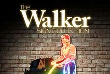 Walker Sign Collection 2015 / Offering over 400 original double-sided and porcelain neon signs, March 27-28, West Memphis, Arkansas!