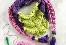 Crochet for Style / Show off your crochet with these stylish patterns.  Shrugs, shawls, wraps, jewelry and more!