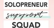 Solopreneur Support Squad {Group Board} / GROUP BOARD FOR SOLOPRENEURS/BLOGGERS! To join, please 1) follow me on Pinterest at http://www.pinterest.com/micaangelicagonz and 2) request access to my private Facebook group at https://www.facebook.com/groups/solopreneursupportsquad/ | Long, vertical pins only please! | For every pin you share, repin someone else's | Those not following the rules will be removed from the group!