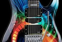 Funny Guitars / Funny, strange or beautiful guitars and guitar stuff / by Jungle Indie Rock Music Blog