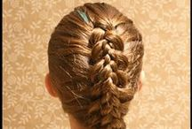 Girl Hairstyles / Girl Hairstyles/Peinados para niñas / by Handmade by Arantza Rivas