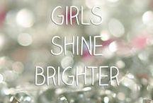 : girls shine brighter :