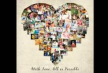 Personalized Art & Photo Gifts / Your Life, My Design. Personalized art by Lali Mayster. Artwork designed with your pictures and words that tells your life's story! Photo collages and Personalized Art-  Follow me on Instagram @YOURLIFEMYDESIGN and you can find my entire collection on Etsy! www.yourlifemydesign.etsy.com