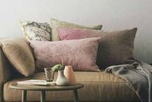 Home Decor: Small Spaces / Creative ideas for small living spaces.