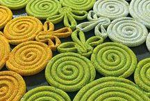 Materials, fabrics, weaves