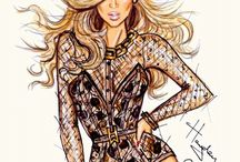 """- FASHION ILLUSTRATIONS - / """"My fave is and will always be.. Mr. Hayden Williams!"""""""