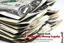 How to Earn Quick Cash