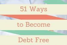 Debt Pay Off / how to pay off debt related articles and posters