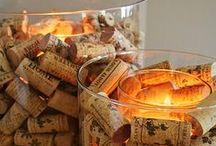Wine Bottles & Cork Crafts / Cork crafts, reusing wine bottles, and so much more!
