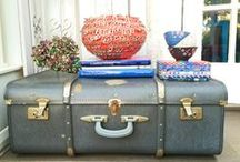 Vintage Suitcases / Travel to a bygone era with these wonderful pieces of vintage luggage in all sizes and colours.