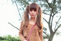 Twin tail style ツインテール / Board of twin tail. Pretty is justice!  ツインテールを集めたボードです^^  かわいいは正義!  #hair #twintail #pretty