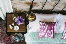 Schlafzimmer | creatisto / Hier findest du alles, was dein Schlafzimmer zur absoluten Wohlfühloase macht - wundervolle Wandgestaltung, DIY-Kissen, leckere Frühstücksideen, ...