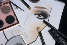 """- MAC FACE CHARTS - / """"Inspirational face charts for me to work with as a future MUA!"""""""