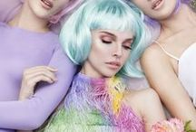 Colours: Pastel Dreams / Pastel coloured hues for design inspiration for colour palettes for mood boards and brand boards