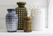 Vintage Ceramics/Pottery / Texture, colour and beautiful form