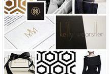 Glamorous Design + Branding / Inspiration for glamorous and sophisticated brands
