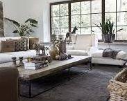 Landelijk, rustig en zacht! / Natuurtinten in je interieur geven rust. Gebruik mooie matte verf voor op de muren, hout voor op de vloer en waan je in de natuur….