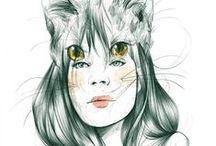 Art&Design&Illustration / by jwn jwn