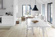white scandinavian home