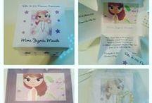 Tarjetas de Comunion / Una breve muestra de nuestras tarjetas de comunion. No dejes de visitarnos en www.lacasadelpapel.com
