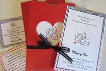 Invitaciones de Casamiento / Aquí encontrara una breve muestra de nuestras participaciones de casamiento. Visítenos en www.lacasadelpapel.com