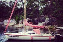 LittleDivas Crew / Hyr vår pimpinetta segelbåt i sommar!