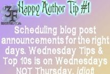 Happy Author Tips / Tips to keep authors (namely this one) happy... Watch out for slight sarcasm at times