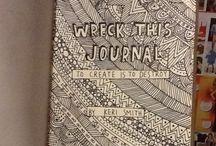 ll Wreck this Journal ~ Ideas ll / Creative Designideas