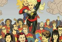 #carolcorps / All Carol Danvers and Kamala Khan, all the time.