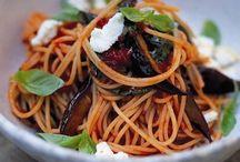 Food: pasta!